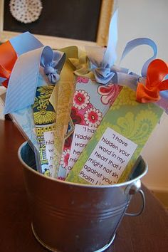 {day by day delight}: Bible Verse Bookmarks