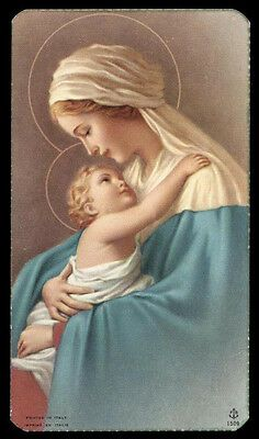 Placeholder for card images. Mother Mary Images, Images Of Mary, Religious Pictures, Jesus Pictures, Blessed Mother Mary, Blessed Virgin Mary, Virgin Mary Art, Vintage Holy Cards, Mary And Jesus