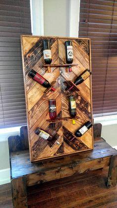 Botellero madera