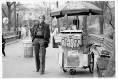 Mr. Saint Laurent in Central Park in 1972. Photo: Barton Silverman/The New York Times