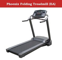 Phoenix Folding Treadmill (EA). Phoenix 98835 Easy-Up Electric Treadmill - Additional Information Cost-effective, space-saving, folding treadmill Stores age, weight, and target heart rate information for up to 9 users 6 challenging preset exercise programs: manual, interval incline, interval speed, weight loss, 5K self-learning/competition, and heart rate control Patented Swing Arm Shock Absorption System lessens the harmful impacts of walking and running; suspended deck increases…