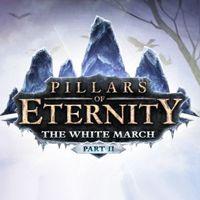 Drugie rozszerzenie DLC do klasycznego RPG Pillars of Eternity studia Obsidian Entertainment. Dodatek kontynuuje wątki zapoczątkowane w The White March Part I, rozszerzając świat gry o nowe lokacje oraz misje fabularne i oferując zwiększony maksymalny poziom postaci oraz niedostępne wcześniej zdolności specjalne bohaterów. W grze pojawia się także nowy towarzysz - barbarzyńca Meleha oraz specjalny, przyspieszony tryb rozgrywki Story Time.