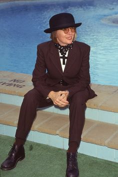 Diane Keaton's Style Evolution Proves That Ties, Vests & Bowler Hats Aren't Just For Men (PHOTOS)