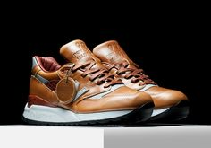 New Balance's incredible pricey Horween Leather Collection is back with a new NB 998, priced at $340 USD.