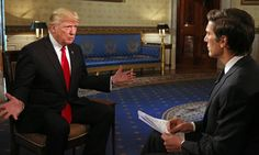 President Donald Trump's ABC Interview And The 13 Most WTF Moments | The Huffington Post