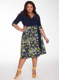 Modelos de faldas formales para gorditas faldas y vestidos pinterest dresses plus size y - Marcador de ropa mine el corte ingles ...