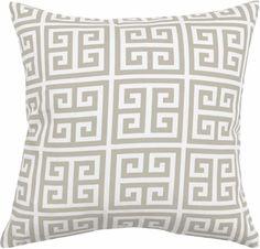 Tonic Living: Designer Fabric, Throw Pillows, Home Decor Pillow Fabric, Greek Key, Decorative Throw Pillows, Chevron, Decorating Ideas, Potatoes, Couch, Living Room, Accessories