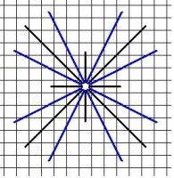Double Cross I Stitch - NeedlepointTeacher.com