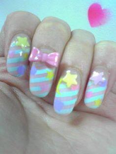 (via fuckyeahspank) | fuck yeah nail art!