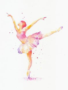 Fine art watercolor painting print watercolor paper cut