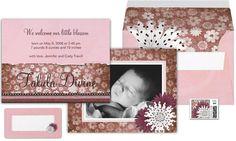 Talula Divine Birth Announcement Suite