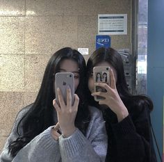 Ulzzang Korean Girl, Ulzzang Couple, Best Friends Aesthetic, Korean Best Friends, Bff Girls, Girl Friendship, Girl Couple, Uzzlang Girl, Korean Couple