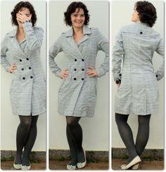 blog vitrine @ugust@ LOOKS   por leila diniz: look com casaco novo xadrez + msg de DEUS: o amor dá sentido a todas as coisas.