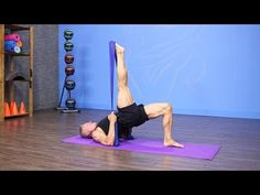 Pilates Matwork with Band, Circle and Toning Balls Preview - YouTube