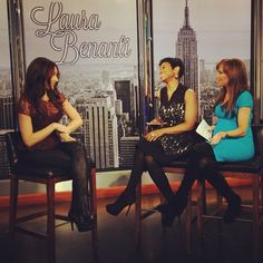 Fun chatting with Laura Benanti about #thesoundofmusiclive and her debut album