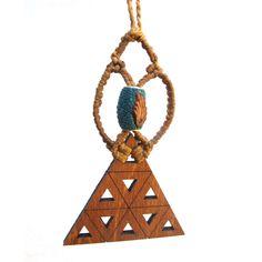 Wooden Psychedelic Jewelry from #GoaLaserFactory on HandMade at Amazon and etsy #woodenearrings #woodjewelry #handmadeatamazon