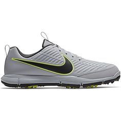 finest selection 3177a b1ec2 NIKE Men s Explorer 2 Golf Shoes (Wolf Gray Anthracite Volt, 13)