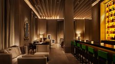 The New York Edition Hotel by Ian Schrager and the Rockwell Group Hotel Lobby Design, New York Edition Hotel, Hotel W, Interior Design New York, Luxury Interior, Interior Architecture, Lobby Bar, Lobby Lounge, Bar Lounge
