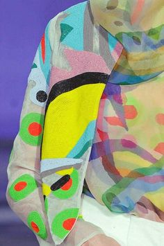 PRINTS, PATTERNS, TRIMMINGS AND SURFACE EFFECTS FROM PARIS FASHION WEEK (A/W 14/15 WOMENSWEAR)Junko Shimada.