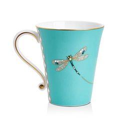 Prouna My Dragonfly Mug - Tiffany Blue Azul Tiffany, Tiffany Blue, Stars Disney, Coffee Cups, Tea Cups, Dragonfly Decor, Dragonfly Photos, Turquoise, Teal