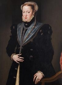 (Austria) Maria of Austria by an unknown painter. Daughter of Carlos V and sister of Felipe II. She married Maximiliano II of Austria, her cousin, son of Fernando I of Austria. Austria, Charles Quint, Spanish Netherlands, Catherine Of Aragon, Portugal, Holy Roman Empire, Spanish Fashion, Roman Emperor, Renaissance Fashion