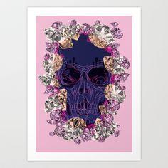 DIAMONDS ARE FOREVER Art Print by Joe Murtagh - $18.00
