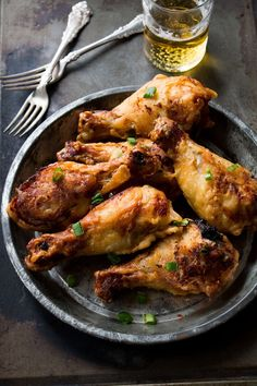 Beer-Battered Yogurt Chicken | www.diethood.com from @Kate Petrovska | Diethood