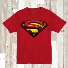 Superman Logo Tees and Onesies _ Superhero T-Shirts _ Toddler and Baby Superman Clothes _ Superman T-Shirts _  Birthday Tees _ Prime Decals