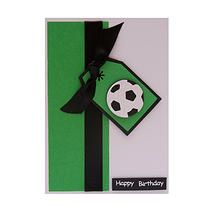 Football Birthday Card from Creations. £1.90.