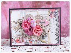 Scrap Art by Lady E: Prima Rossibelle Photo Album