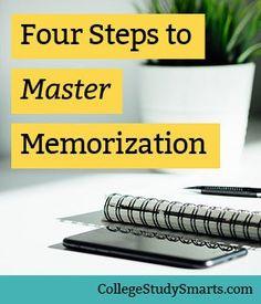 Four+Steps+to+Master+Memorization