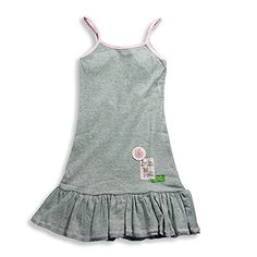 Mish  Little Girls Tank Sundress Grey Pink 156073 -- Click on the image for additional details.