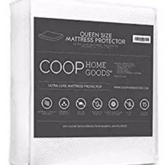 Lulltra Bamboo derived Viscose Rayon Mattress Pad Protector Cover by Coop Home Goods Best Mattress, Mattress Pad, Look Good Feel Good, Mattress Protector, Coloring Books, Home Goods, Bamboo, Feelings, Cover