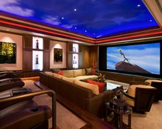 Pass The Popcorn Home Theater - Modern Furniture, Home Designs & Decoration Ideas