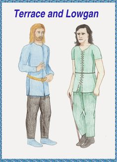 The Brothers Of Wharrior: Paper Dolls of Terrace & Lowgan