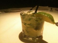 Enjoy your #weekend with our new #cocktail: The Drapkin. Made with Hendricks #Gin, muddled #cucumber, #mint and #lime. Who could go for a glass right now?