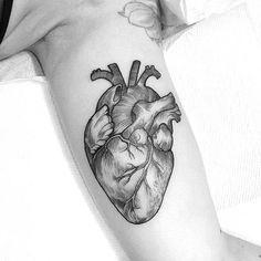 anatomical heart tattoos ideas / anatomical tattoos ideas , anatomical heart tattoos with flowers ideas , anatomical heart tattoos ideas , small anatomical heart tattoos ideas