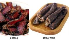 Biltong is a fantastic energy snack. It has been utilized by Many cultures that eat this product. Beef Biltong marinated in special seasoning before drying. The Droewors made with South African spices. Paleo Recipes, Great Recipes, Biltong, World Recipes, Make It Simple, Sushi, Home And Garden, Nutrition, Beef