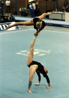 1996 World Championships in Reisa, Germany. Me and Krystal