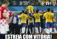 Vitória na estreia do Brasil na Copa 2014