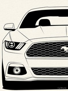 Ford Mustang Sixth Generation S550 Best Shirt Design • Also buy this artwork on apparel, stickers, phone cases, and more.