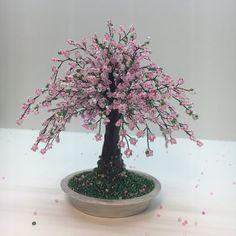 Cherry blossom Home decor Bonsai trees Sakura beaded bonsai tree Wire tree sculpture Handmade gift Wire wrapped tree Office sakura Cherry Bonsai, Wire Tree Sculpture, Home Decoracion, Indoor Plants, Bonsai Trees, Cherry Blossom, Handmade Gifts, Etsy, Beautiful
