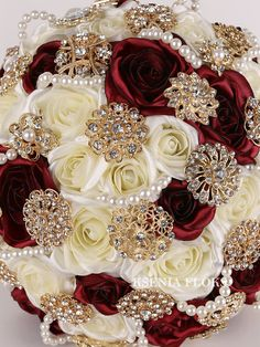 Brooch bouquet Burgundy bouquet Broach bouquet Gold burgundy bouquet Bridal bouquet Fabric wedding bouquet Crystal bouquet Roses bouquet - Home Page Broschen Bouquets, Gold Bouquet, Burgundy Bouquet, Crystal Bouquet, Wedding Brooch Bouquets, Boquet, Red Rose Bouquet, Purple Bouquets, Bridesmaid Bouquets