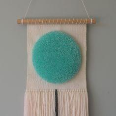 #woven #weaving #wallhanging #wovenwallhanging #art #artist #loom #wool #circle #handmade #gift #gifts