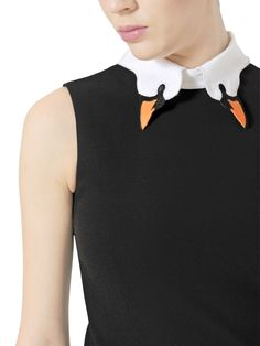 Red Valentino - Swan Collar