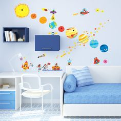 Planets and Space Wall Stickers