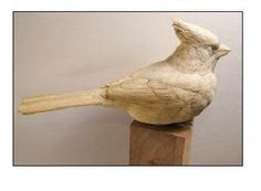 Northern Cardinal, Part One   wildfowl-carving.com