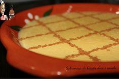 Sobremesa de batata doce e canela ♥♥♥ - Receitas fáceis, rápidas e saborosas!