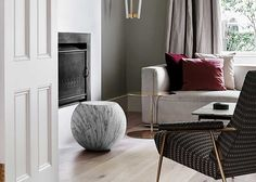 An old Victorian in East Melbourne has been transformed with an elegant and sophisticated design from Flack Studio