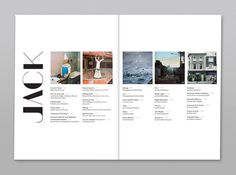 Jack - Fashion, Art & Culture Magazine on Behance
